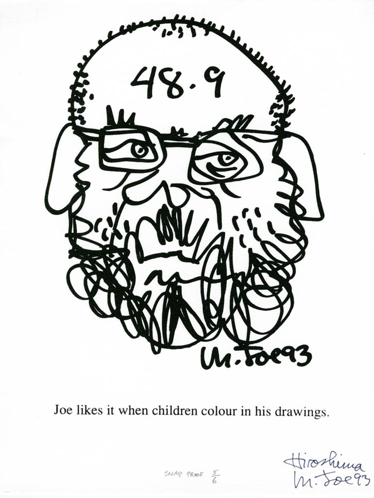 48.9/Joe Likes it When Children Colour in His Drawings – Mendelson ...