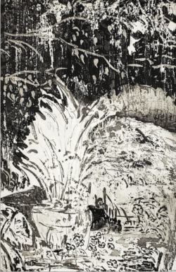 Emmanuel Osahor, detail from Study for Centrepiece